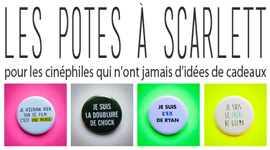 Les Potes  Scarlett - Badges, Tote Bags, Notebooks