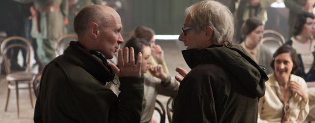 Rencontre avec le réalisateur et le scénariste de <em>Jimmy's Hall</em>, où l'on parle d'un joyeux révolutionnaire irlandais, de la taille d'une vessie écossaise, de Julian Assange et de la Coupe du monde.