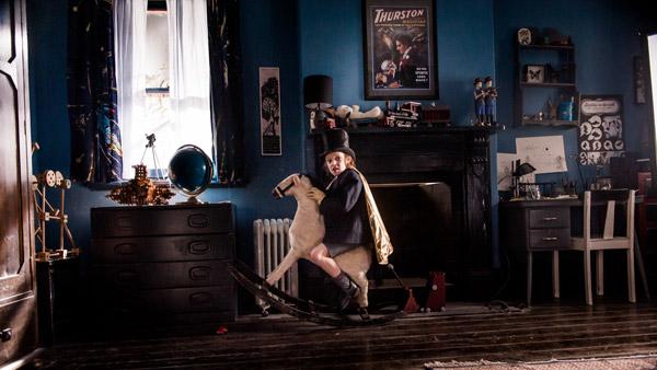 Noah Wiseman aka Sam dans Babadook, de Jennifer Kent