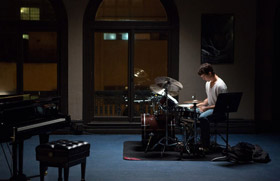 Miles Teller dans Whiplash, de Damien Chazelle