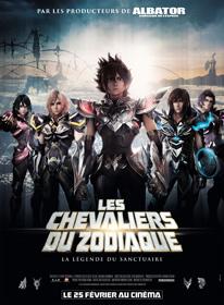 Les Chevaliers du Zodiaque : la légende du Sanctuaire, de Keiichi Sato