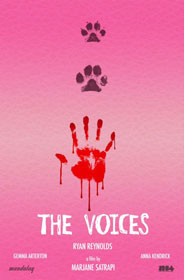 The Voices, de Marjane Satrapi