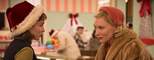 New York, années 1950. Carol est riche et mariée, mère d'une petite fille. Therese est jeune et pauvre, vendeuse au rayon jouets d'un grand magasin. L'une est corsetée par un...
