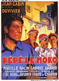 Affiche de Pépé Le Moko