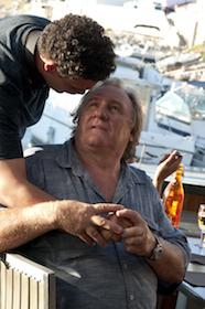 Gérard Depardieu et Sadek, Tour de France