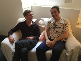Cristian Jimenez et Niels Schneider