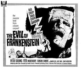 L'Empreinte de Frankenstein, de Freddie Francis