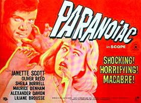Paranoïaque, de Freddie Francis