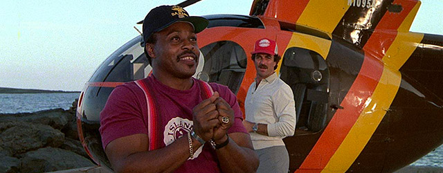 Après les chefs-d'œuvre cannois, revenons à des considérations plus terre à terre ; la télé, les années 1980, une paire de moustaches, Higgins, Zeus, Apollon...