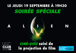 Ciné-Quiz Alien UGC Paris 19